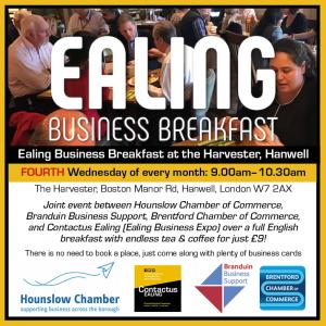 Ealing Business Breakfast - Fourth Wednesday logo
