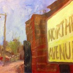 Northfields cover painting