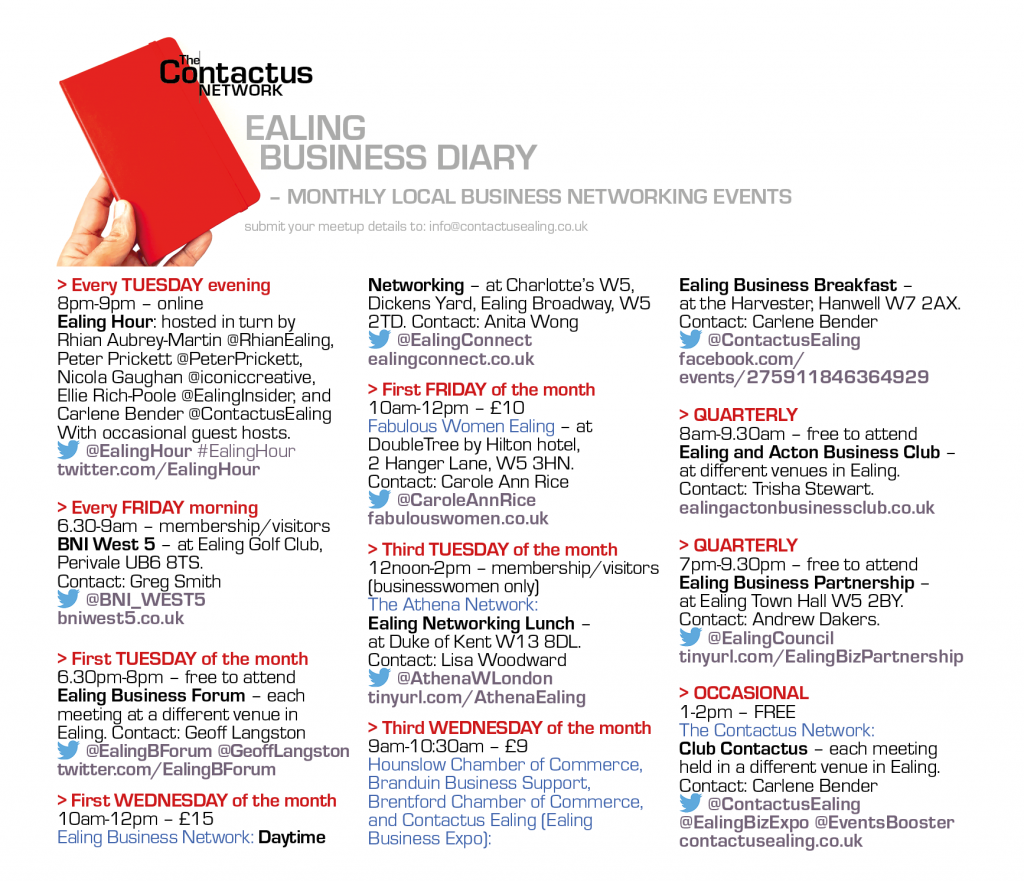 Ealing Business Diary pic